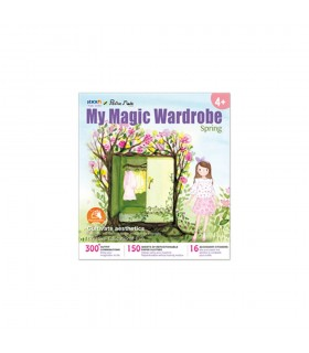"Carte creativa My Magic Wardrobe - primavara  Stick""n"
