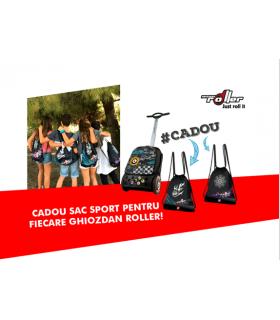 Ghiozdan Goal Roller NIKIDOM + sac sport CADOU
