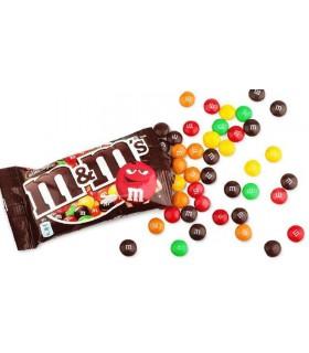 Bomboane cu ciocolata si glazura crocanta 45 g M&M'S