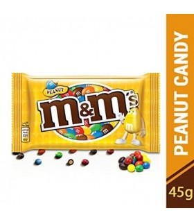 Arahide in ciocolata si glazura crocanta 45 g M&M'S