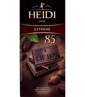 Ciocolata amaruie 85% cacao Dark 80 g HEIDI