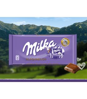 Ciocolata cu lapte 100 g MILKA