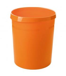 Cos de birou pentru hartii 18 litri Grip Trend-Colours - orange HAN