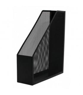Suport metalic Mesh pentru reviste si cataloage - negru Q-Connect