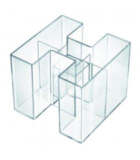 Suport pentru instrumente de scris Bravo - transparent cristal HAN
