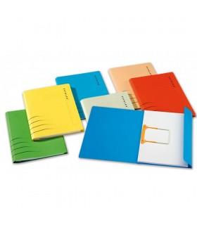 Dosar carton color cu alonja arhivare de mare capacitate Secolor JALEMA
