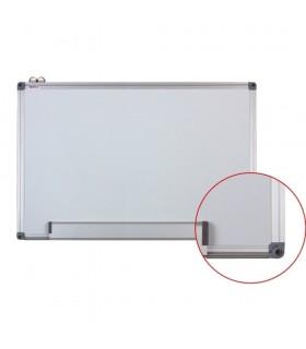 Tabla alba magnetica rama din aluminiu 60 x 90 cm  OPTIMA