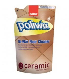 Refill detergent pardoseli 750 ml SANO Poliwix Ceramic