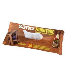 Set 20 servetele umede pentru mobila SANO Furniture