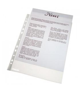 Folie protectie standard, A4, 40 microni, 100 folii/set ESSELTE