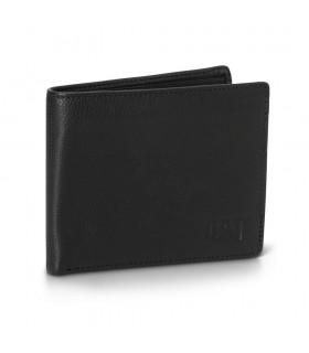Portofel din piele cu doua compartimente pentru carduri si unul pentru monede Onix CATERPILLAR