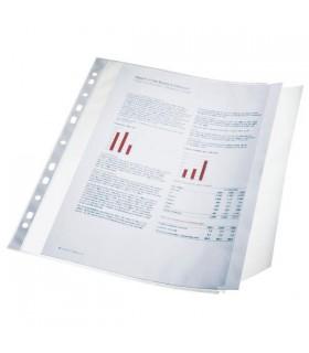 Folie protectie A4 cu clapa laterala, 100 microni, 10/set ESSELTE