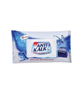 Servetele umede anticalcar 50 bucati/set SANO Antikalk