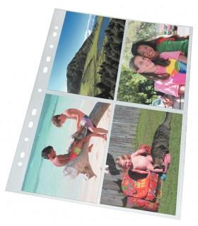 Folie protectie A4 pentru fotografii A4 10/set ESSELTE