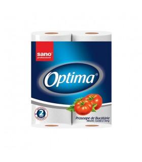Prosoape hartie Paper Towel Optima 24x2 SANO