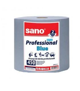 Prosop hartie Paper Professional Blue 450 SANO