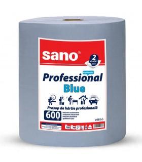 Prosop hartie Paper Professional Blue 600 SANO