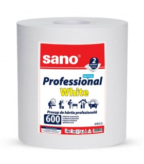 Prosop hartie Paper Professional White 600 SANO