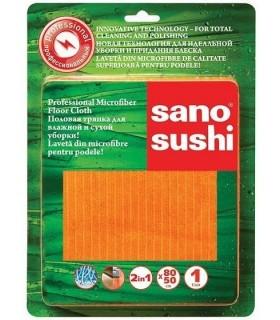 Laveta profesională din microfibre pentru podele 50x80cm SANO SUSHI