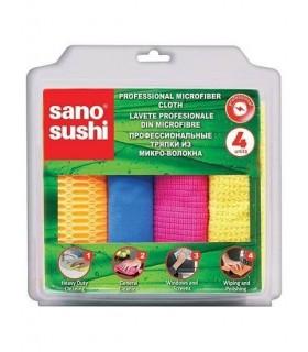 Lavete din microfibra profesionale 4 buc/set SANO SUSHI