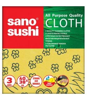 Lavete uscate universale, 3 buc./pachet SANO Sushi Cloth