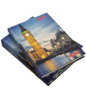 Agenda datata A5 zentangle, motiv Londra, 2021 HERLITZ