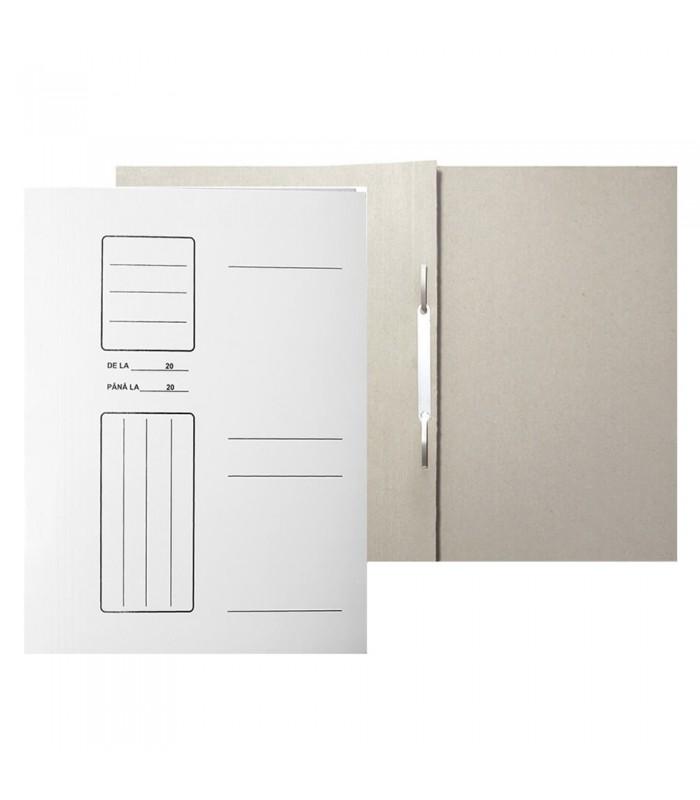 Dosar din carton cu sina alb A4
