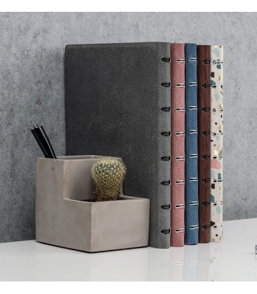 Agenda Notebook Architexture cu spirala si rezerve A5 Terrazzo FILOFAX