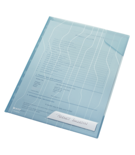Mapa plastic 40 coli 5 bucati/set CombiFile LEITZ