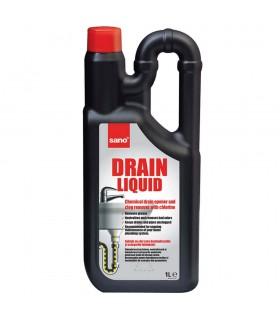 Solutie pentru desfundat instalatii sanitare 1 L SANO Drain