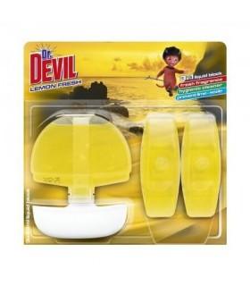 Odorizant lichid wc 3 x 55 ml DR. DEVIL