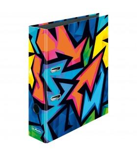 Biblioraft maX.file A4 8 cm motiv Neon Art HERLITZ