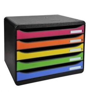 Cabinet 5 sertare landscape multicolor EXACOMPTA