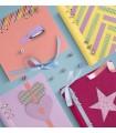 Agenda Clipbook Classic cu inel si rezerve A5 Pink FILOFAX