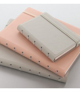Agenda Notebook Jack cu spirala si rezerve A5 pastel FILOFAX