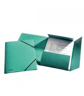 Mapa din carton cu elastic diverse culori Lux ESSELTE
