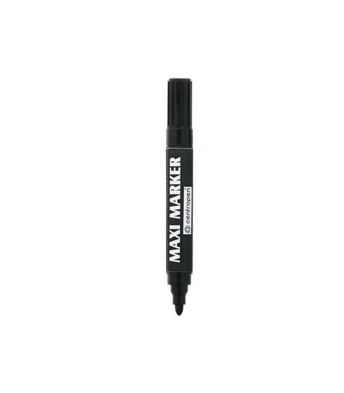 Marker permanent negru Maxi 8936, varf rotund 2.0 - 4.0 mm CENTROPEN