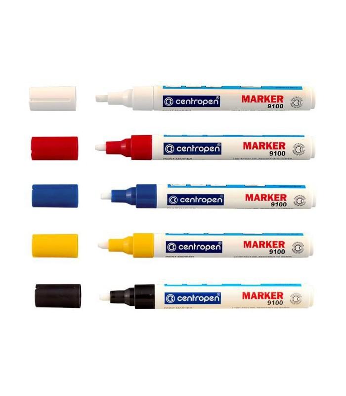 Marker vopsea diverse culori, varf 1-5 mm CENTROPEN