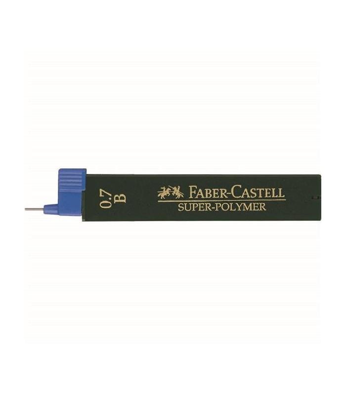 Mina creion diverse grade duritate, varf 0.7 mm Super-Polymer FABER - CASTELL