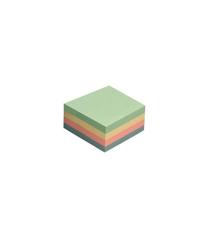 Notes adeziv 75 x 75 mm, 320 file, 4 culori pastel GLOBAL