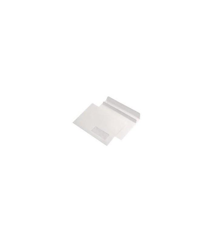 Plic C5 autoadeziv cu fereastra dreapta, 80 g/mp, 162 x 229 mm, alb GPV