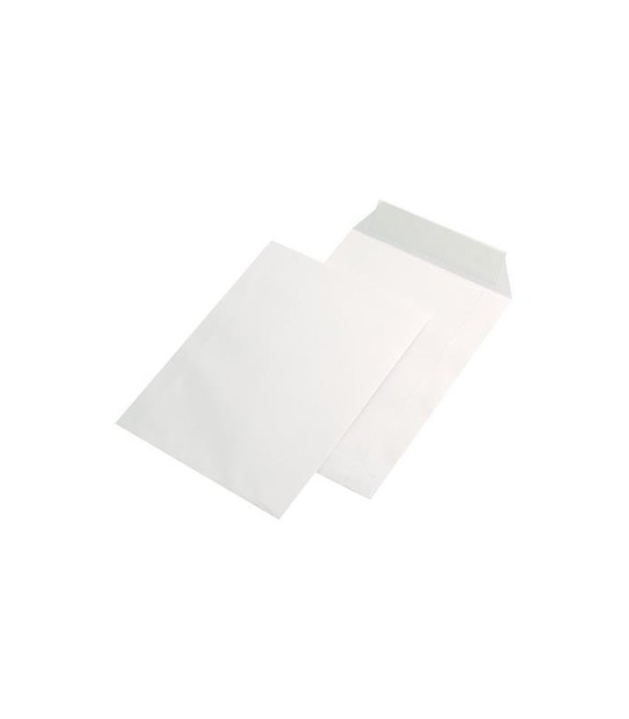 Plic C5 siliconic, deschidere pe latura mica, 90 g/mp, 162 x 229 mm, alb GPV