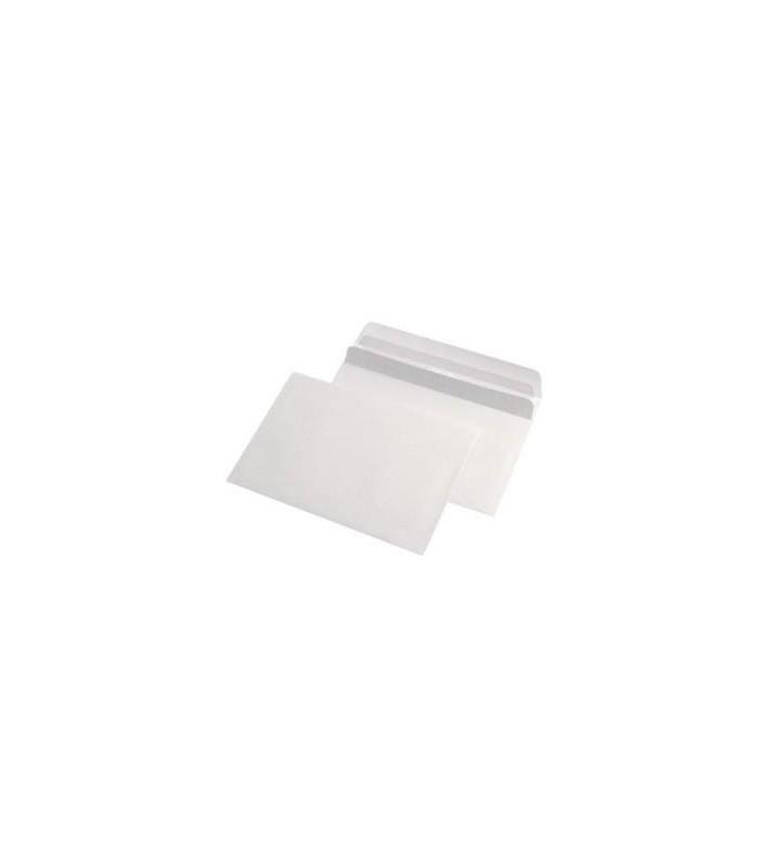 Plic C6 autoadeziv, 80 g/mp, 114 x 162 mm, alb GPV