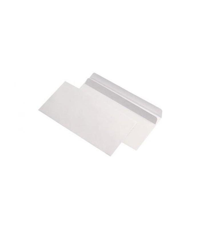 Plic DL autoadeziv fara fereastra, 80 g/mp, 110 x 220 mm, alb GPV