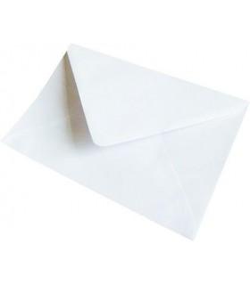 Plic felicitari gumat, 80 g/mp, 130 x 190 mm alb GPV