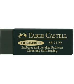 Radiera Arta Dust Free 20 Verde FABER CASTELL