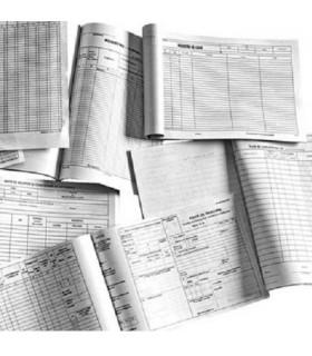 Registru  jurnal A4 de incasari si plati
