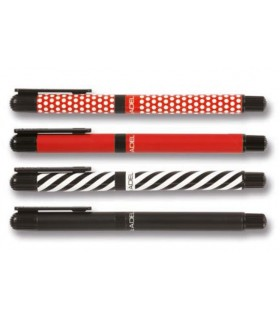 Roller diverse modele, varf 0.5 mm Metalic Fashion ADEL