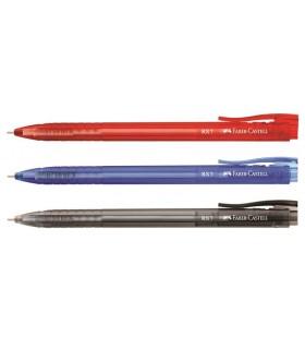 Roller cu gel diverse culori, varf 0.7 mm cu mecanism RX7 FABER - CASTELL