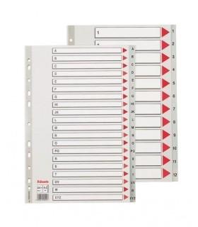 Index plastic, A4 Maxi, ESSELTE
